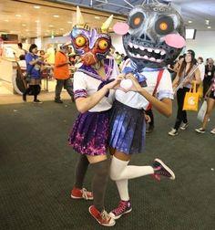 Majora's Mask school girls cosplays :s