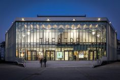 Theatre Maurice Novarina Renovation/ WIMM, Courtesy of WIMM