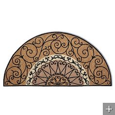 Love This Wrought Iron For The Half Moon Windows In The