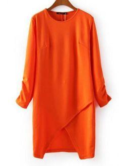 AUTUMN NEW FASHION LADIES' IRREGULAR FOLDS BACK HOLLOW PACKAGE HIP DRESS 2450
