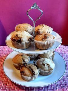 Snickers Muffins {deutsches Rezept}