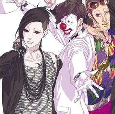 Fan art of the clowns. Love it.