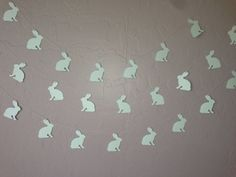 Peter Rabbit Garland/ Banner, Baby Shower Garland, Bunny Garland, Blue Bunny on Etsy, $16.00