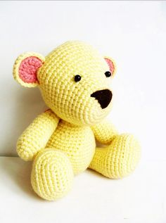 Bear Amigurumi Crochet Pattern