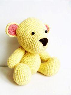 AMIGURUMI PATTERN  Mr.Teddy by Ahmaymetshop on Etsy, $4.99