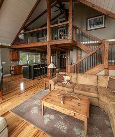 Lighter floors, painted island, wood cabinets?