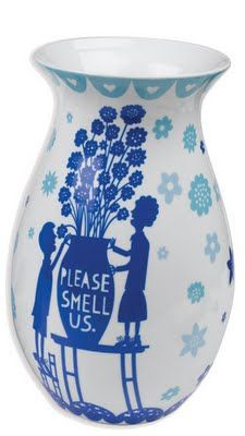 Charming and fanciful, the Painted Ceramic Vase from Rob Ryan gives quirky touches and lovely colour to your everyday floral displays. Ceramic Painting, Ceramic Vase, Rob Ryan, Colour Board, Gadgets And Gizmos, Flower Vases, Flowers, Discount Designer, Ideal Home