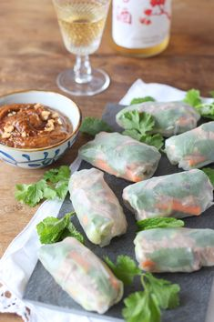 Ottolenghi, Fresh Rolls, Finger Foods, Tapas, Good Food, Brunch, Asian, Dinner, Ethnic Recipes