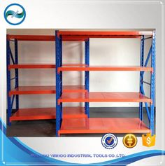 heavy duty selective metal beam rack 5 tier shelving