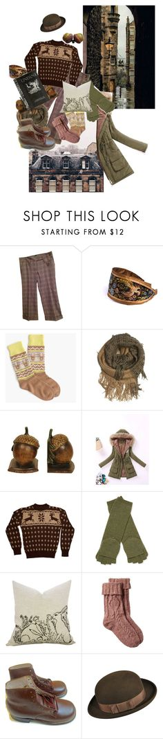 """Undine - Edinburgh 3"" by amanda-anda-panda ❤ liked on Polyvore featuring Dolce&Gabbana, CO, Corgi, Sterling Industries, American Apparel, Qi Cashmere and Fat Face"