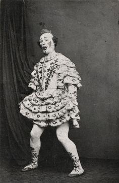 Harry Payne as clown  Late 19th century