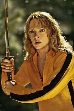 Uma Thurman as Beatrix Kiddo in Kill Bill