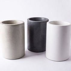 The Culinarium Concrete Utensil Holder / Wine Chiller is cast from our proprietary blend of air entrained concrete which has superior thermal qualities tha Beautiful Kitchen Designs, Beautiful Kitchens, New Oven, Utensil Holder, Kitchenware, Home Remodeling, Kitchen Remodeling, Crock, Modern