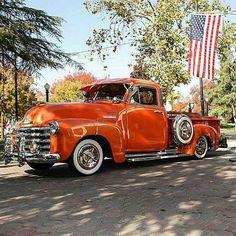 @Regrann from @brotherstrucks -  Orange Crush 😍, repost @lowridermagazine. Spring Savings going on now at www.BrothersTrucks.com.  #chevrolet #chevy #gmc #classic #vintage #pickup #truck #advancedesign #3100 #3600 #3800 #automotive #restoration #lowered #bagged #slammed #lowrider #bomb #whitewalls - #regrann