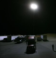 truck stop at night - Google Search