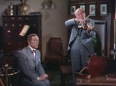 """In The Good Old Summertime released July 29, 1949. Buster plays Hickey, a clerk in his uncle Otto Oberkukegon's (played by S Z """"Cuddles Zakall) store. Buster was a gag writer on the film so Director Robert Leonard asked him the best way to accidently break Otto's violin,  After hearing Buster's instructions he decides Buster is the only one who can do the stunt correctly, so Buster is given the part of Hickey his first credited role  (and last) with MGM since being a featured performer."""