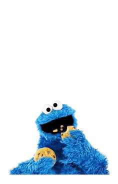 Cookie Monster IPHONE by LauraWoollin Cookie monster wallpaper Cookie monster pictures Cookie monster drawing