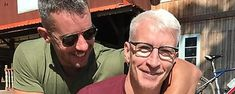 Anderson Cooper actually hissed at partner Benjamin Maisani during driving lesson Horseradish Cream, Thing 1, Anderson Cooper, Recipe Ratings, Key Ingredient, Train Rides, Omelette, Baking Pans, Fitness