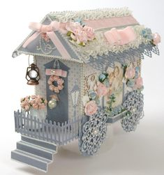 Tara Brown, Author at Tara's Craft Studio 3d Paper Projects, 3d Paper Crafts, Diy And Crafts, Craft Projects, Arts And Crafts, Paper Crafting, Shabby Chic Crafts, Paper Houses, Diy Painting