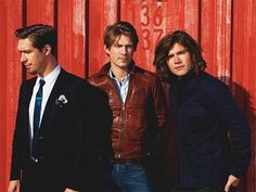 Hey, how are you? OK, more importantly: Look at this hot as fuck picture of Isaac, Taylor, and Zac Hanson all grown up. | 22 Photos That Prove The Hanson Brothers Are Actually Smoking Hot