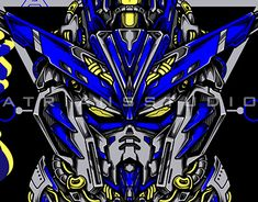 Gundam Head, Flat Illustration, T Rex, Sacred Geometry, Cover Design, Line Art, Futuristic, Techno, Behance