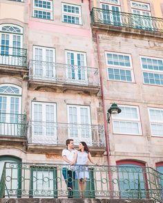 As casas coloridas do Porto