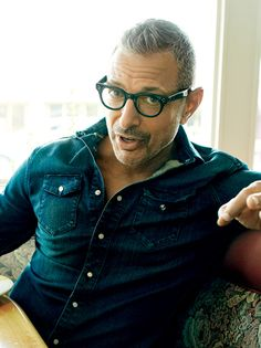 Jeff Goldblum Should Have His Own Late-Night Show Celebrities With Glasses, Celebrity Glasses, Men Over 40, Portraits, Older Men, Mens Glasses, Mannequins, Beautiful Men, Beautiful People