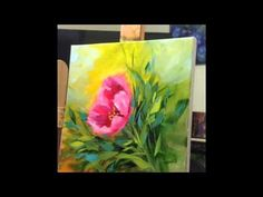 How to Paint Tulips - Pink Pirouette Tulip, a Free Video by Nancy Medina Art - YouTube