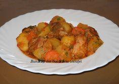 To ca nita de cartofi Romanian Food, Ratatouille, Carne, Recipies, Cooking Recipes, Chicken, Ethnic Recipes, Traditional, Pork