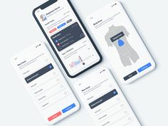 Health by anatoly ios app design, mobile ui design, interface design, ui ki Ios App Design, Mobile Ui Design, Web Design, Interface Design, User Interface, Ui Kit, Mobile App Ui, Health App, Ui Inspiration