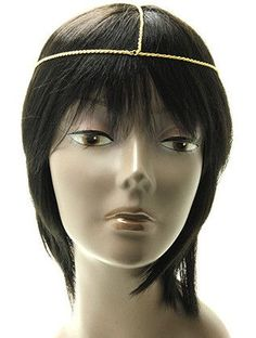 NYHGDGOD,HAIR ACCESSORY, LAYERED ROPE, HEAD CHAIN, INCH LONG, NICKEL AND LEAD COMPLIANT