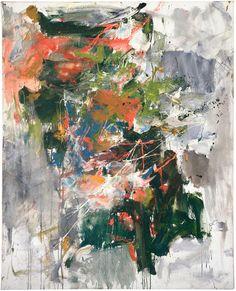 Joan Mitchell Untitled 1962