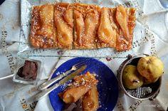 Aluat foietaj de casa reteta clasica frantuzeasca   Savori Urbane Vol Au Vent, Romanian Food, Caramel, French Toast, Deserts, Dessert Recipes, Food And Drink, Breakfast, Sweet