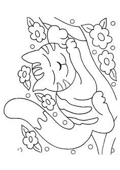 Coloriage chat colorier dessin imprimer dessin pinterest coloriage chat colorier et - Coloriage fleur tps ...