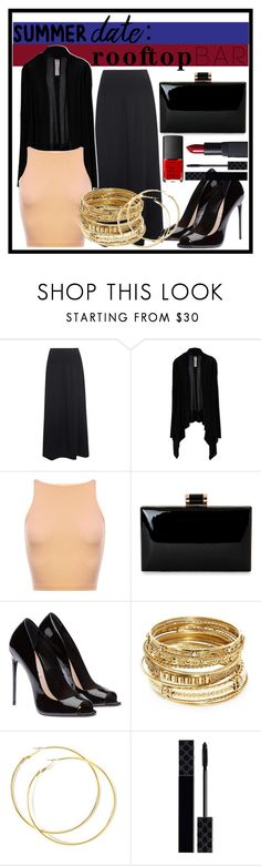 """Summer Date ~ Rooftop Bar"" by xxkaitlyn on Polyvore featuring Oska, Rick Owens, Natasha, ABS by Allen Schwartz, Gucci, NARS Cosmetics, summerdate and rooftopbar"