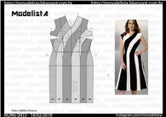 Dresses For Work, Short Dresses, Formal Dresses, Dress Patterns, Sewing Patterns, Modelista, Dress Neck Designs, Black N White, Fashion Sketches