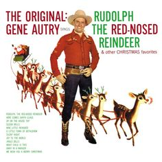 Enjoy the History of Rudolph the Red-Nosed Reindeer with me! My mother played her Gene Autry Christmas album, which included Rudolph The Red-Nosed Reindeer. Christmas Albums, Christmas Past, Christmas Movies, Christmas Carol, Christmas Videos, Xmas, Christmas Ukulele, Christmas Vinyl, Reindeer Christmas
