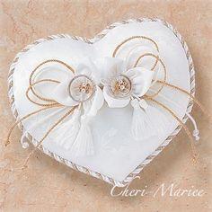 #4494kit:ロマンティックリングピローキット 和風ハート<シェリーマリエ・リングピローコーナー>