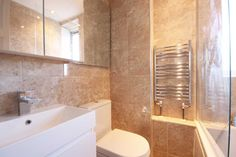 AFTER: Shepherds Bush 1 Bed Flat, A large studio flat which was converted into a 1 bedroom flat with separate kitchen.