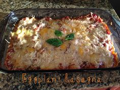 the Crohny Kitchen: Eggplant Lasagna