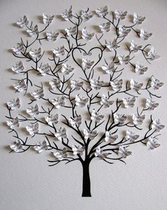 Tree of Mini Butterflies Upcycled Anne of Green Gables Text or Your Choice of Book Text / Personalized at Bottom / Made to x 10 albero di Mini farfalle Upcycled Anne of Green Family Wall Decor, Family Tree Wall, Tree Wall Art, Diy Wall Art, Diy Wall Decor, Home Decor Wall Art, Diy Art, Butterfly Tree, Butterfly Wall Art