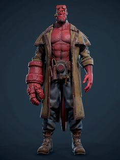 New movie trailer inspired me to create my version of this iconic character. Most of his looks were based on comics versions. Hope you guys like this work. Zbrush Character, Character Poses, Character Art, Character Design, Iconic Characters, Comic Book Characters, Samurai Art, Universe Art, Cg Art