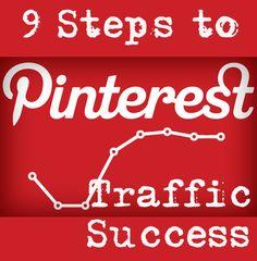 9 Steps To Pinterest Traffic Success. SocialMedia Today.