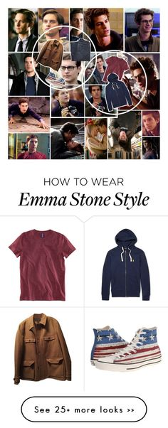 """""""Peter Parker / Tag"""" by lexie-ann on Polyvore"""