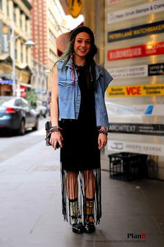 Shelby Lynn Schumacher      lovely face  Numerous bracelet. Different socks.  Melbourne street fashion www.facebook.com/PlanBStyleBook