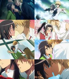 Screencaptures from the very first episode from Kaichou Wa Maid-sama. Description from deviantart.com. I searched for this on bing.com/images