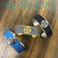 One of our #RusticCuff favorites, Daniele Stingray $88. #KelleyJewelers #Stingray #DowntownWeatherfordOK #Bracelets Rustic Cuff, Bracelets, Bracelet, Bangles, Bangle, Arm Bracelets, Super Duo
