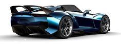 The dual rear wings improve the 2016 Rezvani Beast X's aerodynamic performance