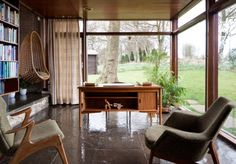 1954 Farnley Hey   Architect: Peter Womersley   West Yorkshire, England