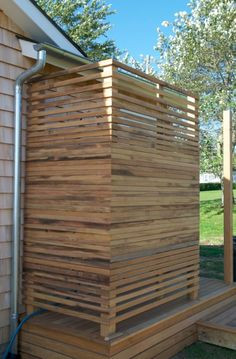 outdoor shower enclosure images